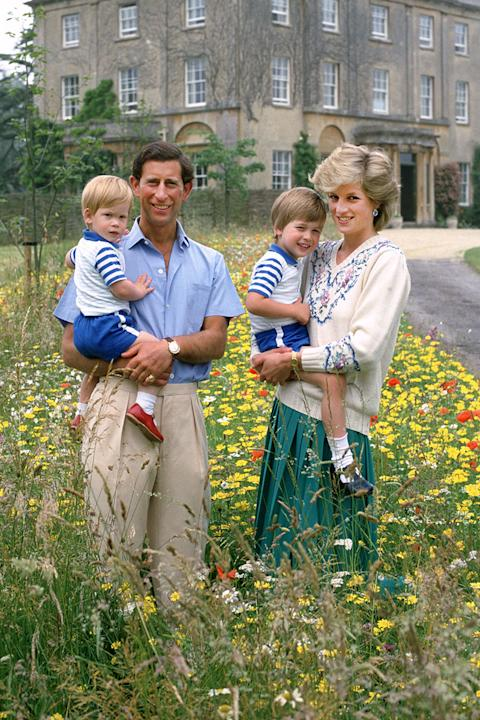 The Prince and Princess of Wales, United Kingdom, 1986