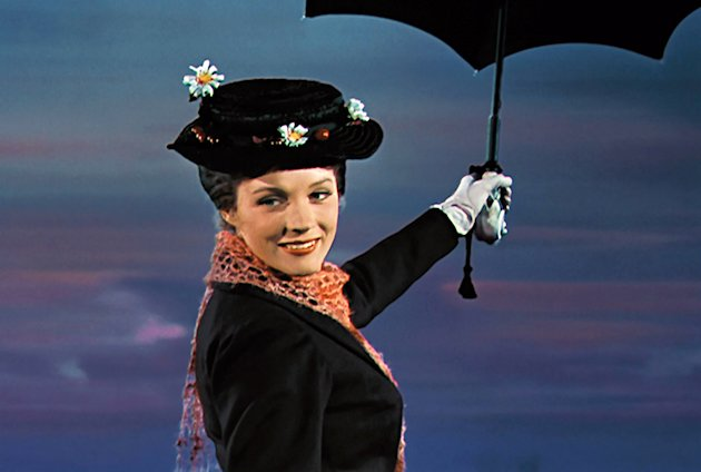 Julie Andrews in 'Mary Poppins,' 1964