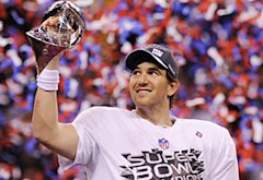 Eli Manning | Photo Credits: Timothy A. Clary/AFP/Getty Images