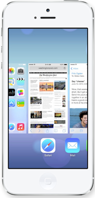 How Will iOS 7 Boost Unified Communications? image ios7 multitasking