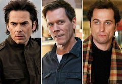 Billy Burke, Kevin Bacon, Matthew Rhys   | Photo Credits: Barbara Nitke/Fox; Brownie Harris/NBC; Craig Blankenhorn/FX