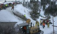 Bus Veers Off Icy Oregon Road: Nine Killed