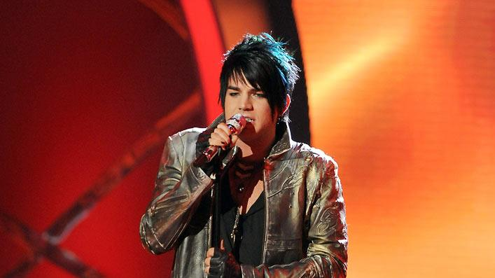 "Adam Lambert performs ""Ring of Fire"" by Johnny Cash on ""American Idol."""