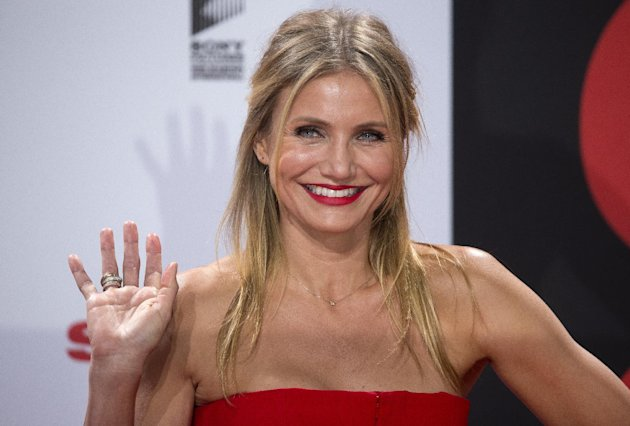 Cameron Diaz. (AP Photo/Michael Sohn)