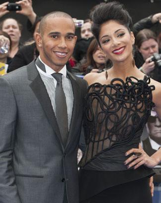 Lewis Hamilton 'Hit The Roof' Over Nicole Scherzinger & Chris Brown Photos