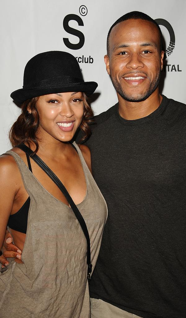 Meagan Good, DeVon Franklin