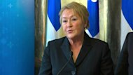 Quebec Premier Pauline Marois speaks about the province's gun control registry in light of the Newtown, Conn. shooting.