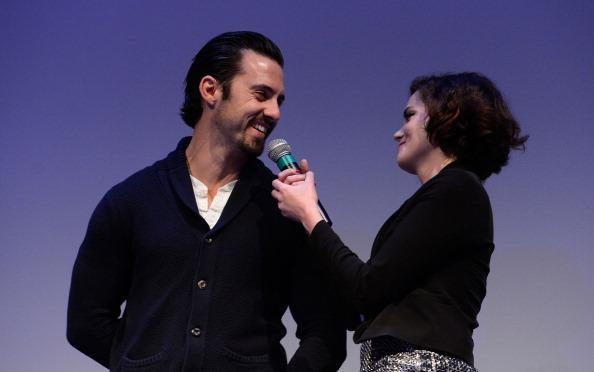 Milo Ventimiglia and Roxane Mesquida