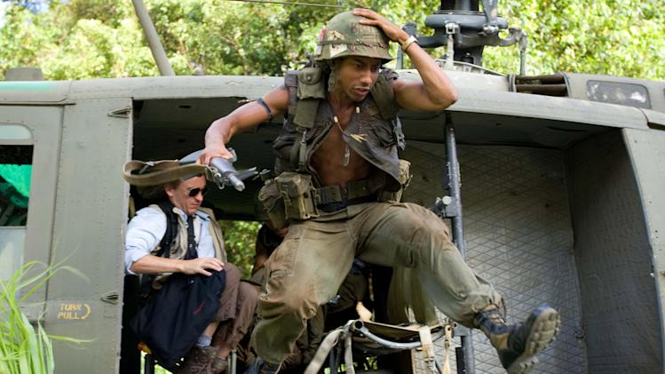 Brandon T. Jackson Tropic Thunder Production Stills DreamWorks 2008