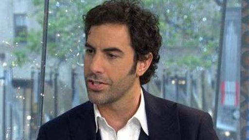 Sacha Baron Cohen Talks Comic Relief Role in 'Les Mis'