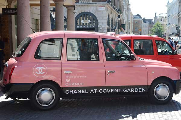 Wow - Chanel Taxis Full Of Beauty Treats On Streets Of London As Of Tomorrow!