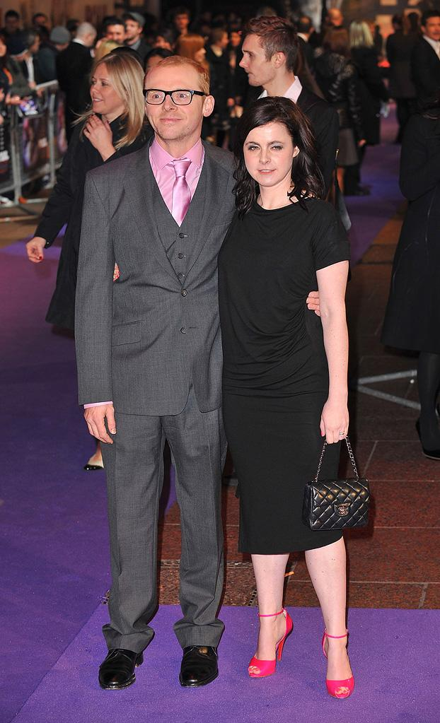 Paul UK premiere 2011 Simon Pegg Maureen Pegg