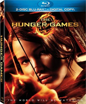 The Hunger Games Blu-ray Box Art