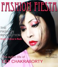 FASHION FIESTA MAGAZINE COVER