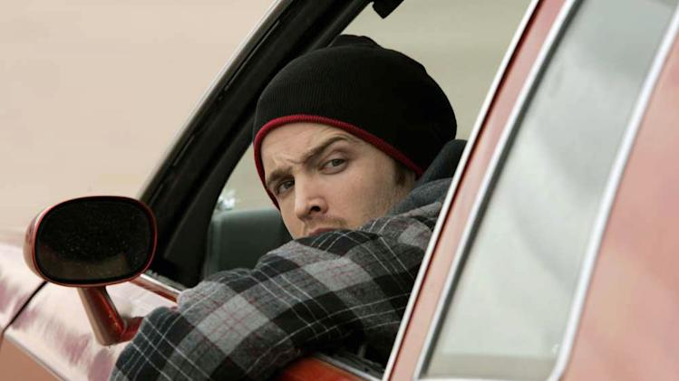 Aaron Paul as Jesse in Breaking Bad.