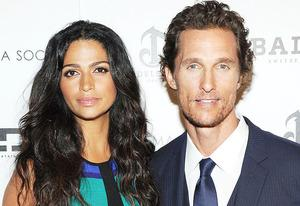 Camila Alves and Matthew McConaughey | Photo Credits: Larry Busacca/Getty Images