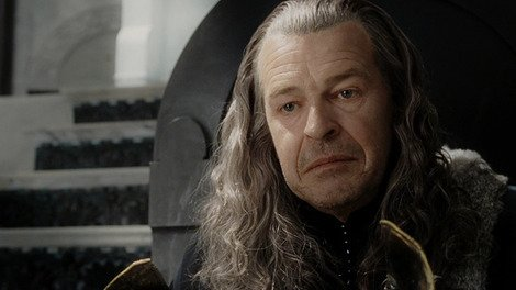 John Noble as Denethor in The Lord of the Rings