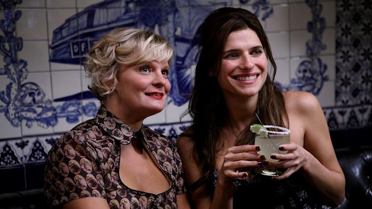 "Martha Plimpton and Lake Bell in ""How To Make It In America."""
