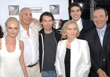 Premiere: Kate Bosworth, Frank Langella, director Bryan Singer, Eva Marie Saint, Brandon Routh, Kevin Spacey at the Westwood premiere of Warner Bros. Pictures' Superman Returns - 6/21/2006