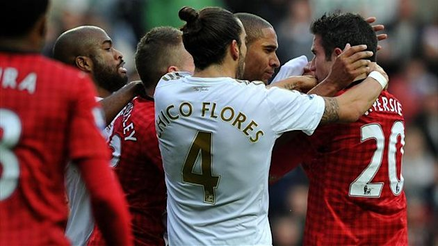 Saison 2012/2013: Swansea City vs. Manchester United