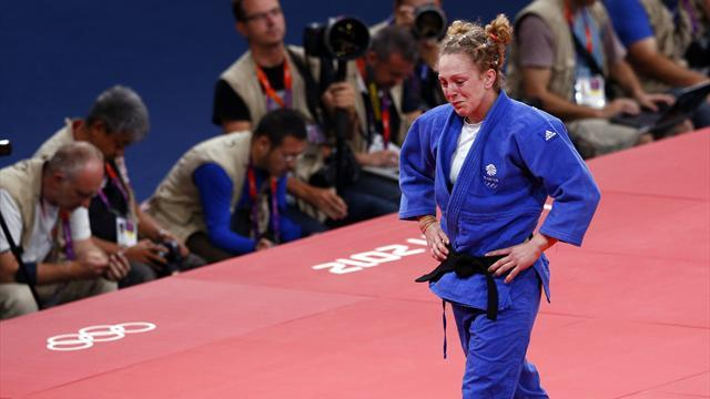 Judo - Conway back in world top eight with silver in Turkey