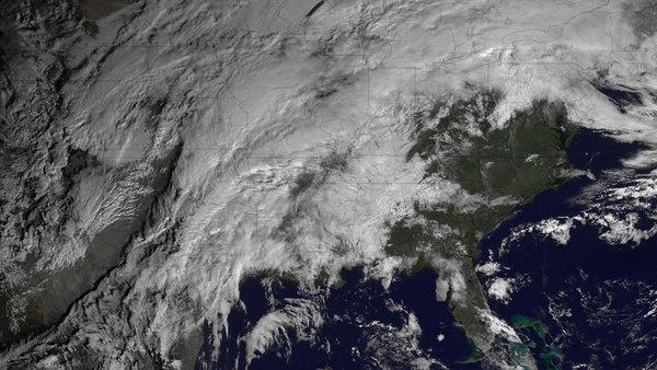 Satellite Spies Severe Weather Brewing