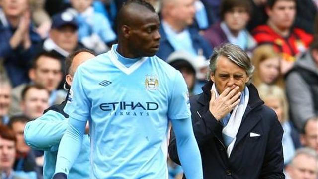 Serie A - Mancini: Balotelli going nowhere