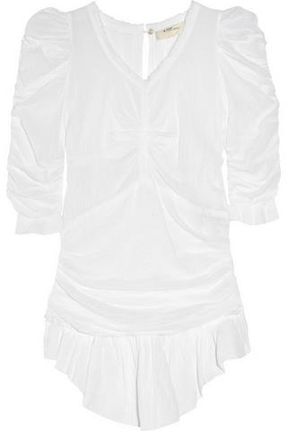 Etoile Isabel Marant Kathari cotton-gauze top, $280, at Net-A-Porter