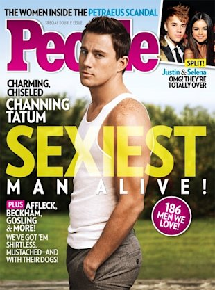 Channing Tatum named Sexiest Man Alive