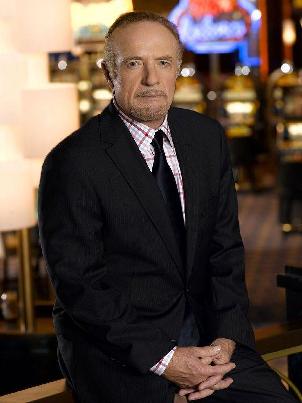 James Caan as Ed Deline on NBC's Las Vegas.