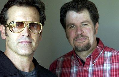 Bruce Campbell and Don Coscarelli Bubba Ho-Tep Toronto Film Festival - 9/6/2002