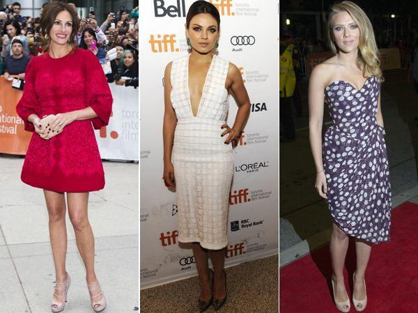 Celeb Style: At Toronto International Film Festival 2013