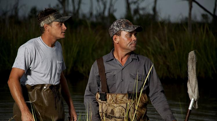 "Joe LaFont and Tommy Chauvin as seen in ""Swamp People"""