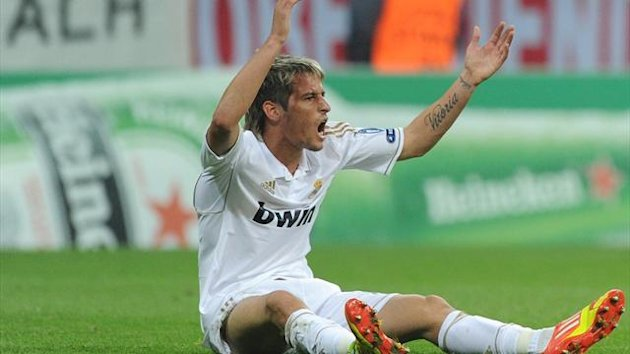 FOOTBALL - 2011/2012 - Bayern-Real Madrid - Coentrao