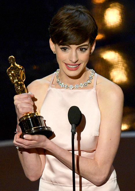Anne Hathaway Practiced Her Oscar Speech a Lot to Be More Likable
