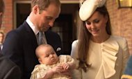 Prince George Christened At St James's Palace