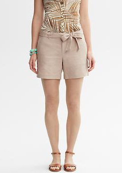 Banana Republic Tie-Front Short, $49.50