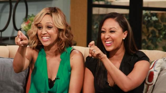 Tia and Tamera Mowry on Access Hollywood Live, July 10, 2013 -- Access Hollywood