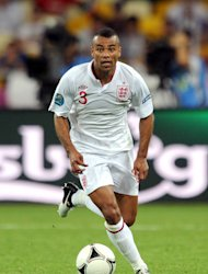 Ashley Cole will not line up for England against Ukraine on Tuesday