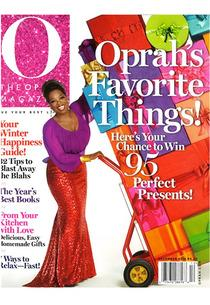 O Magazine, December 2012 | Photo Credits: O Magazine/Harpo Inc