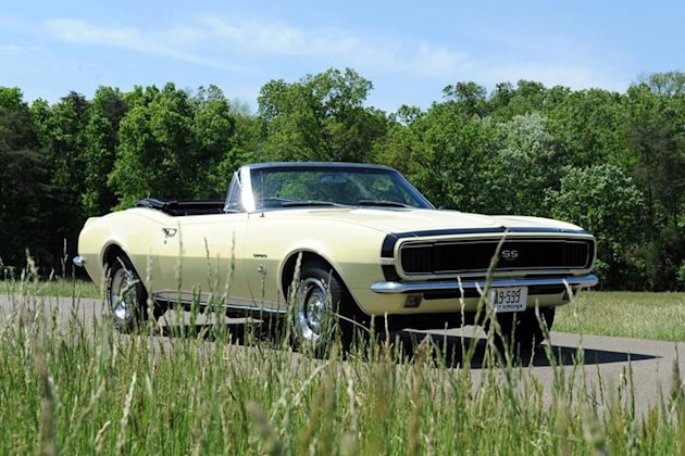 first generation camaro convertible photo