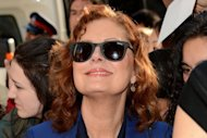 "Actress Susan Sarandon attends the ""Cloud Atlas"" premiere during the 2012 Toronto International Film Festival on September 8, 2012"