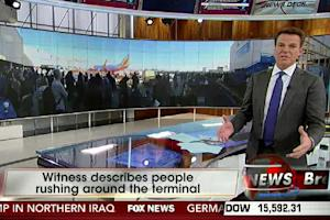 How Shepard Smith and the Fox News Deck Covered the LAX Shooting