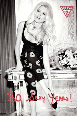 Guess Releases 30th Anniversary Capsule Collection Modelled By Claudia Schiffer: FIRST LOOK