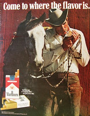 In Content Marketing, Is A Picture Worth A Thousand Words? image marlboro