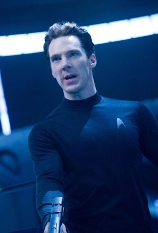 Benedict Cumberbatch in 'Star Trek Into Darkness'