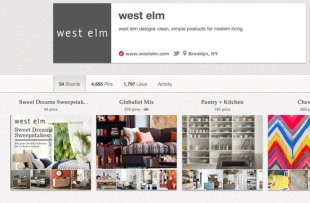 5 Brands Using Pinterest Right and How to Learn from Them image westelm pinterest