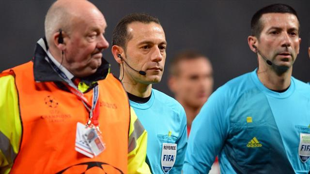 Champions League - Who is Cuneyt Cakir?