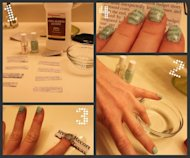 Newsprint Nails: Step by Step