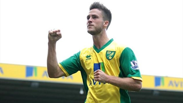 Norwich City's Ricky van Wolfswinkel (PA Photos)